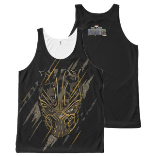 Black Panther | Erik Killmonger Claw Marks All-Over Print Tank Top