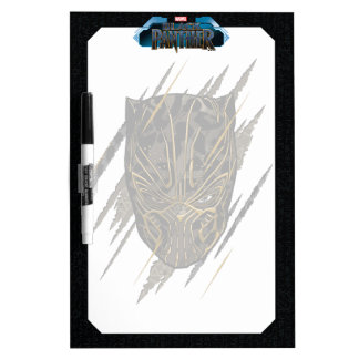 Black Panther | Erik Killmonger Claw Marks Dry Erase Board