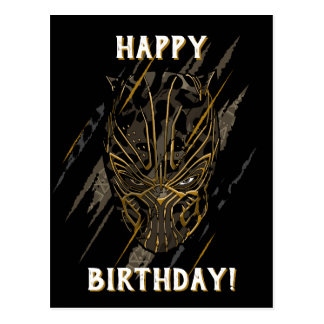 Black Panther | Erik Killmonger Claw Marks Postcard
