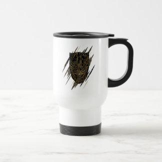 Black Panther   Erik Killmonger Claw Marks Travel Mug