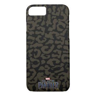 Black Panther | Erik Killmonger Panther Pattern iPhone 8/7 Case