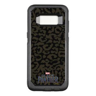 Black Panther | Erik Killmonger Panther Pattern OtterBox Commuter Samsung Galaxy S8 Case