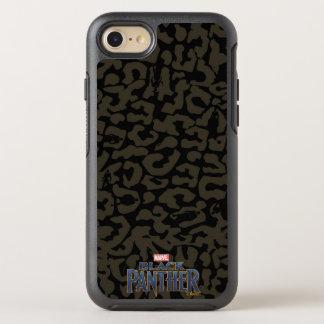 Black Panther | Erik Killmonger Panther Pattern OtterBox Symmetry iPhone 8/7 Case