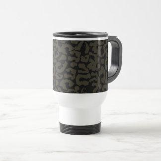 Black Panther   Erik Killmonger Panther Pattern Travel Mug