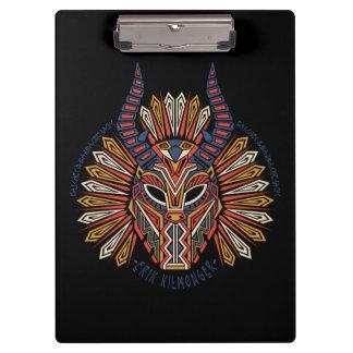 Black Panther | Erik Killmonger Tribal Mask Icon Clipboard