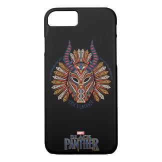 Black Panther | Erik Killmonger Tribal Mask Icon iPhone 8/7 Case