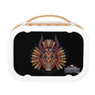 Black Panther | Erik Killmonger Tribal Mask Icon Lunch Box