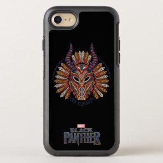 Black Panther | Erik Killmonger Tribal Mask Icon OtterBox Symmetry iPhone 8/7 Case