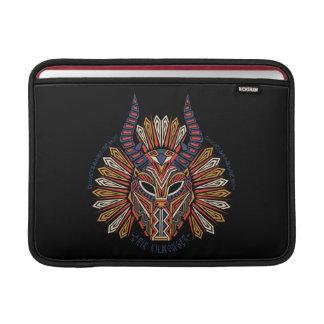 Black Panther | Erik Killmonger Tribal Mask Icon Sleeve For MacBook Air