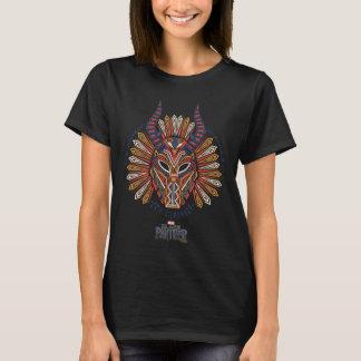 Black Panther | Erik Killmonger Tribal Mask Icon T-Shirt