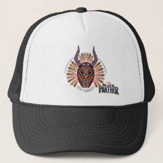 Black Panther | Erik Killmonger Tribal Mask Icon Trucker Hat