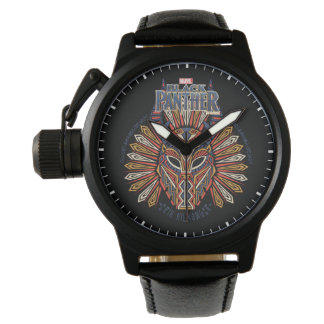Black Panther | Erik Killmonger Tribal Mask Icon Watch