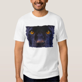BLACK PANTHER FACE Wildlife Supporter T-shirt