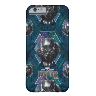 Black Panther | Geometric Character Pattern Barely There iPhone 6 Case
