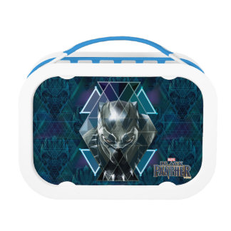 Black Panther | Geometric Character Pattern Lunch Box
