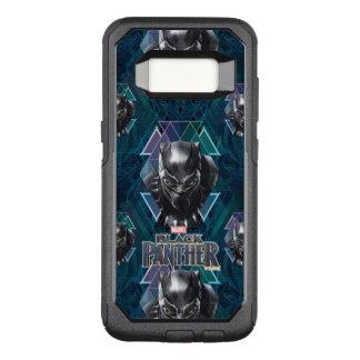 Black Panther   Geometric Character Pattern OtterBox Commuter Samsung Galaxy S8 Case
