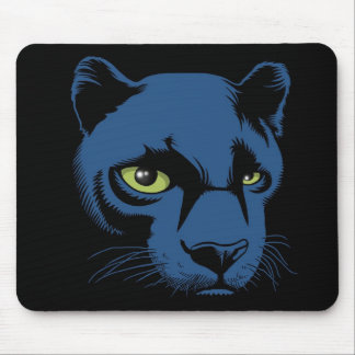 Black Panther head Mouse Pad