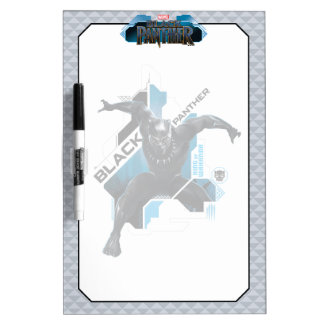Black Panther | High-Tech Character Graphic Dry Erase Board