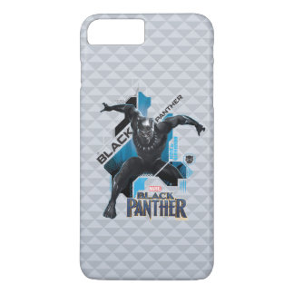 Black Panther | High-Tech Character Graphic iPhone 8 Plus/7 Plus Case