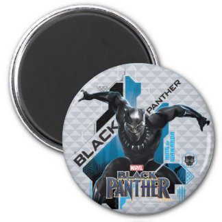 Black Panther | High-Tech Character Graphic Magnet
