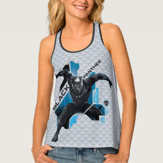 Black Panther   High-Tech Character Graphic Tank Top