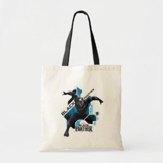 Black Panther | High-Tech Character Graphic Tote Bag