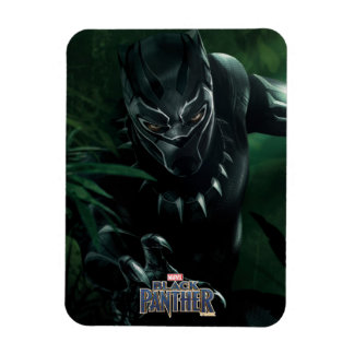 Black Panther | In The Jungle Magnet