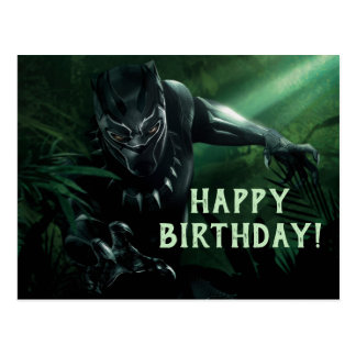 Black Panther | In The Jungle Postcard
