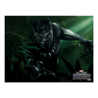 Black Panther | In The Jungle Poster