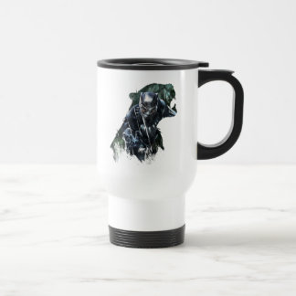 Black Panther   In The Jungle Travel Mug