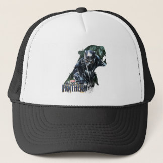 Black Panther | In The Jungle Trucker Hat