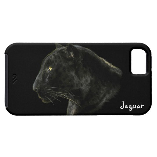 Black Panther Jaguar Big Cat Wildlife iPhone4 Case