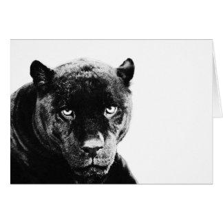 Black Panther Jaguar Card