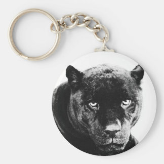 Black Panther Jaguar Key Ring