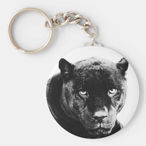 Black Panther Jaguar Keychains