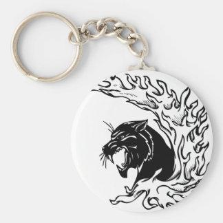 Black Panther Key Ring