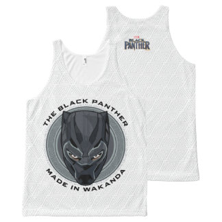 Black Panther   Made In Wakanda All-Over Print Tank Top