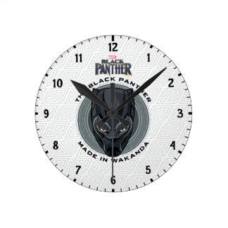Black Panther | Made In Wakanda Round Clock