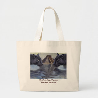Black Panther Mexico Collection Large Tote Bag