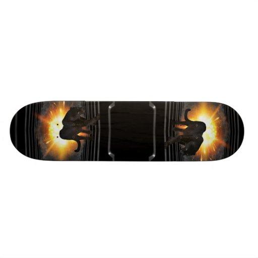 Black Panther Music Video Theme Skateboard