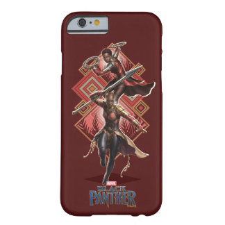 Black Panther | Nakia & Okoye Wakandan Graphic Barely There iPhone 6 Case
