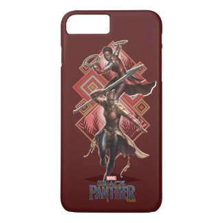 Black Panther | Nakia & Okoye Wakandan Graphic iPhone 8 Plus/7 Plus Case