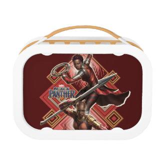 Black Panther | Nakia & Okoye Wakandan Graphic Lunch Box