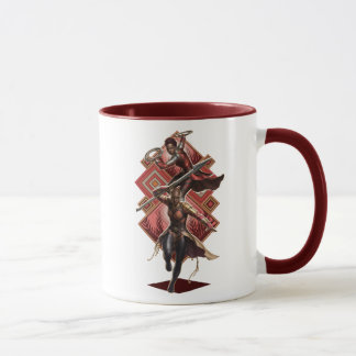 Black Panther | Nakia & Okoye Wakandan Graphic Mug
