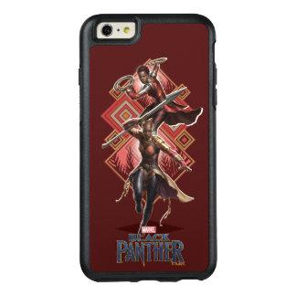 Black Panther | Nakia & Okoye Wakandan Graphic OtterBox iPhone 6/6s Plus Case