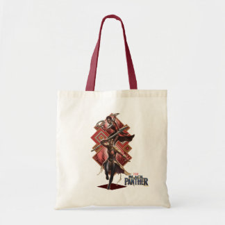Black Panther | Nakia & Okoye Wakandan Graphic Tote Bag