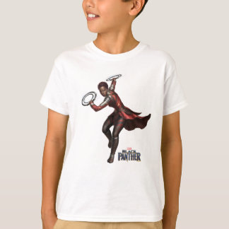 Black Panther | Nakia With Ring Blades T-Shirt