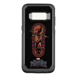 Black Panther | Okoye & Nakia Wakandan Panel OtterBox Commuter Samsung Galaxy S8 Case