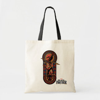 Black Panther | Okoye & Nakia Wakandan Panel Tote Bag