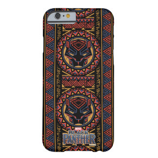 Black Panther | Panther Head Tribal Pattern Barely There iPhone 6 Case